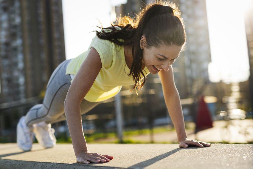 pushups test